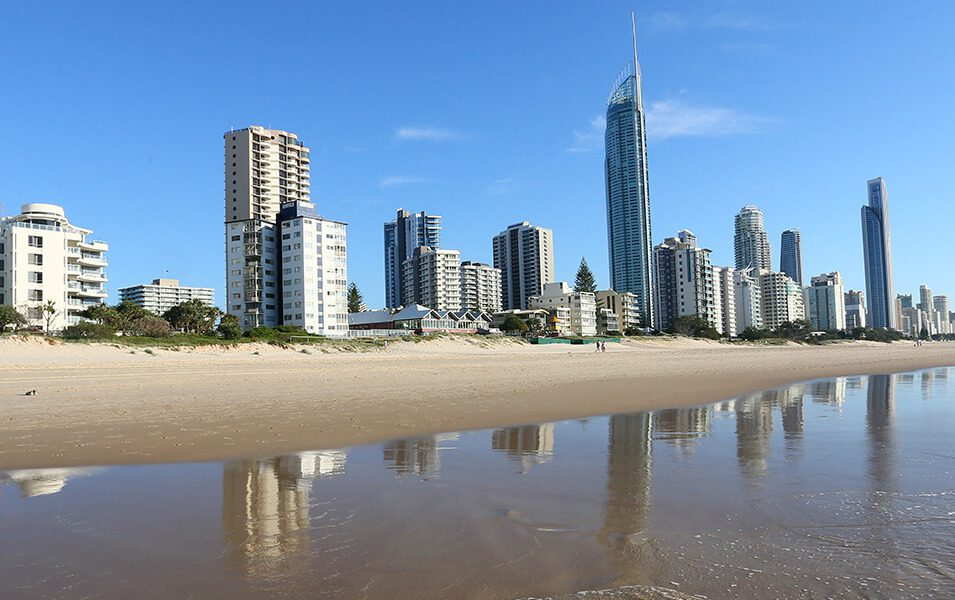 surfers-paradise-beach | The Regent Apartments - Gold Coast Holiday Accommodation Resort