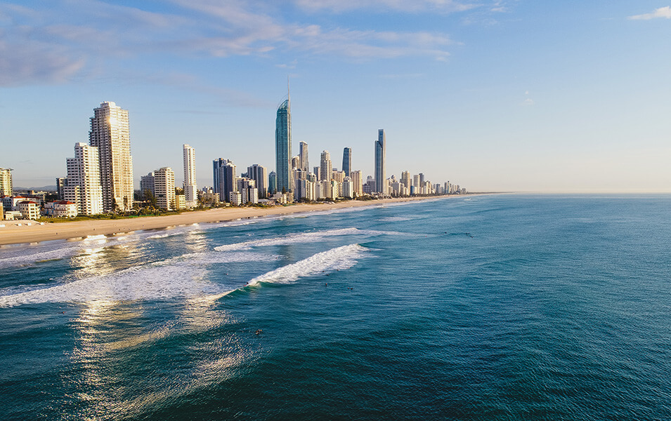 surfers-paradise-coastline | The Regent Apartments - Gold Coast Holiday Accommodation Resort